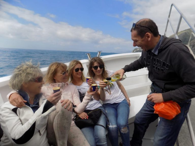Limoncello on the boat