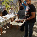 Slastno meso pripravljeno na Naxosu