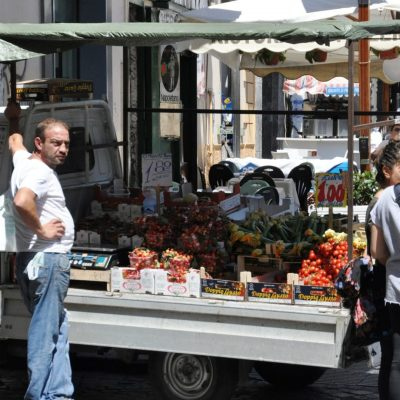 On street vendor