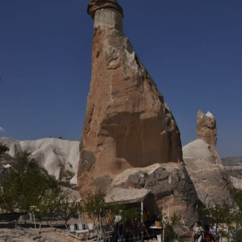 Cappadocia turkey chimney fairly