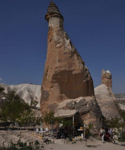 Cappadocia turkey chimney fairly