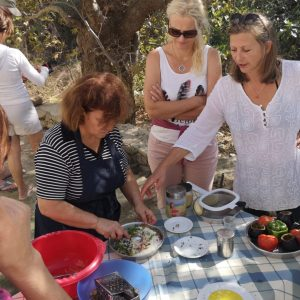 cooking lesson greece naxos