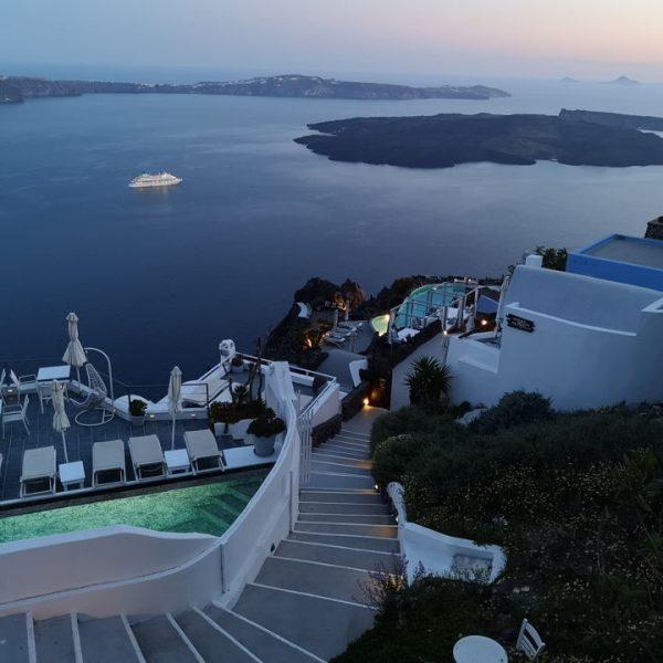 Santorini - pogled