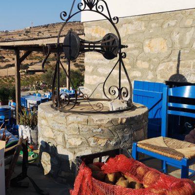 Vodnjak na Santoriniju